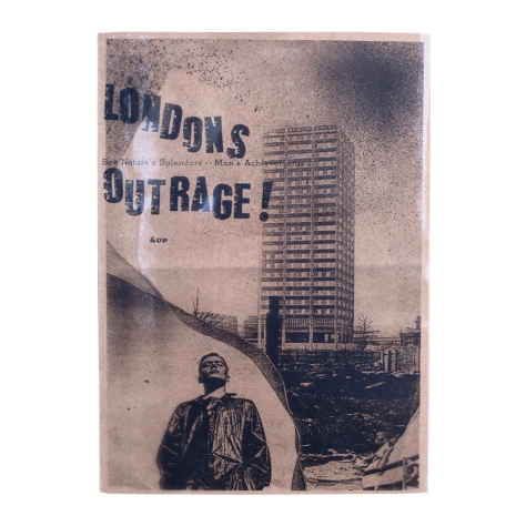 London's Outrage No 2 Cover, Jon Savage