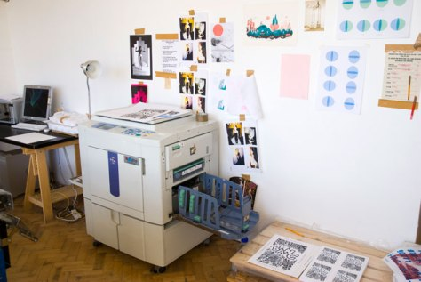 Risograph Printer, Ditto Press