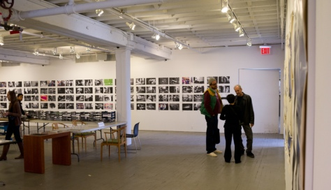Page selection,Printing Show, Daido Moriyama, New York (2011)