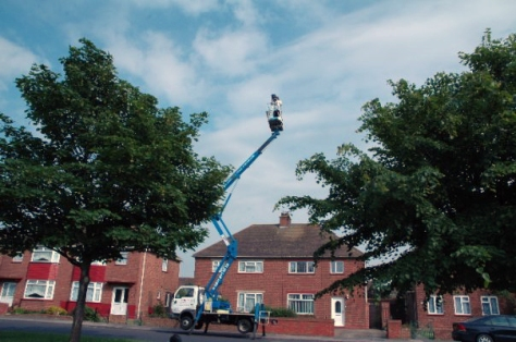 Massive Cherry Picker Adventure, location images from The Smell of Bitumen (2007)