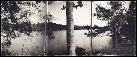 Durham Boat Launch (triptych), A River Lost and Found: The Androscoggin in Time and Place (2011)
