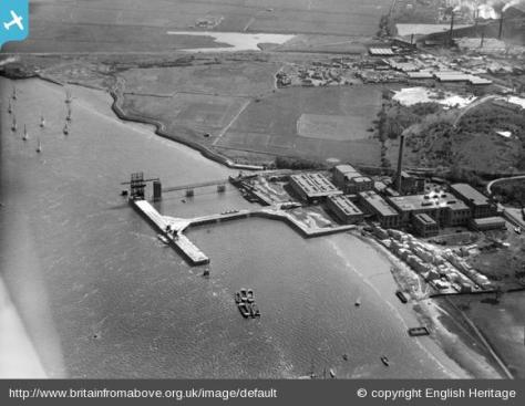 Empire Paper Mills and Ingress Abbey Wharf, Greenhithe, (1927)