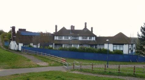 Toll Gate Inn after closure in 2011, Gravesend