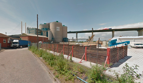 Lafarge Works, West Thurrock, taken from Google Streetview
