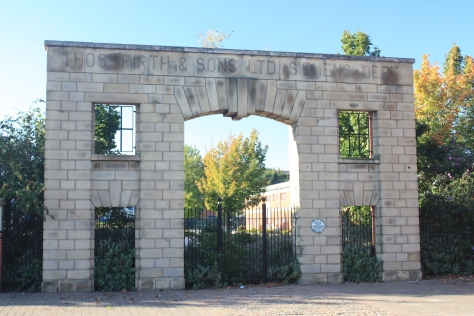 The gateway of Thomas Firth and Sons Ltd., Seimens Melting Shop of Norfolk Works